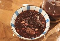 养生粥系列——红枣枸杞花生紫米糯米粥的做法