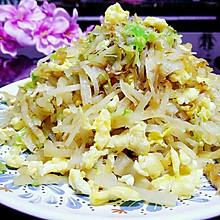圆白菜鸡蛋炒饼