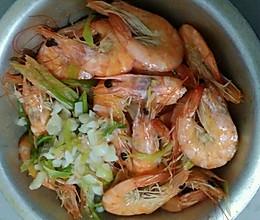 盐水煮虾的做法
