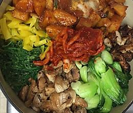 韩国石锅饭的做法
