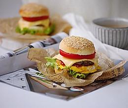 汉堡包#童年不同样,美食有花样#