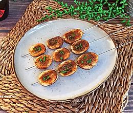 香烤杏鲍菇#带着美食去踏青#的做法