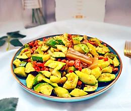 #花10分钟,做一道菜!#凉拌黄瓜粉皮花生米的做法
