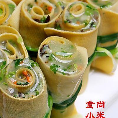 香椿素菜卷