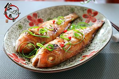 香烤金线鱼#长帝烘焙节(刚柔阁)#