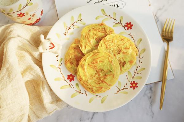 全麦杂蔬小饼·营养超丰富的早餐低卡料理的做法