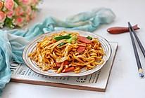 #快手又营养,我家的冬日必备菜品#快手炒面条的做法