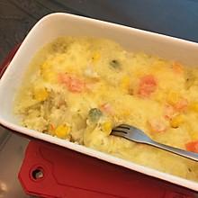 椰香焗薯泥