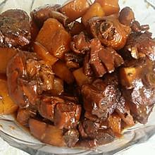 红烧鸡腿(土豆)