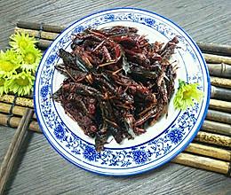 下酒菜——油炸蝗虫的做法
