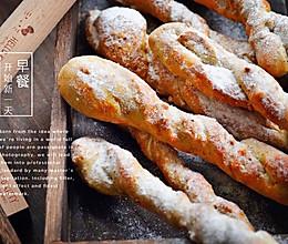 枫糖面包条的做法