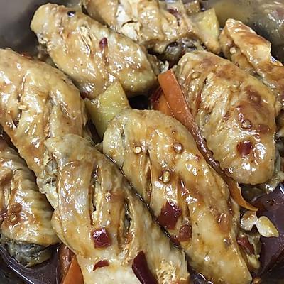 电饭锅多汁焗鸡翅