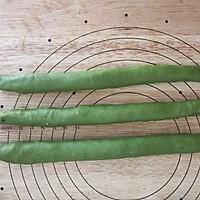 抹茶蜜豆辫子面包的做法图解12