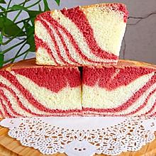 拉花戚风蛋糕