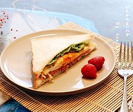三明治#换着花样吃早餐#的做法