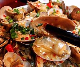 蒜香花蛤的做法