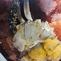 香辣梭子蟹烩年糕的做法图解10