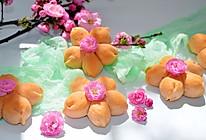 桃花小面包➕#中良我买,春季踏青#的做法