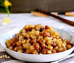 炒三丁,南北方食材的经典搭配的做法
