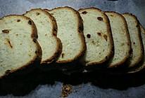 酸奶葡萄干土司(面包机)的做法
