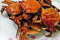 蒸河蟹的做法