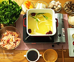 用椰汁做一锅真正的椰子鸡火锅的做法