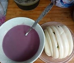 抗癌养生紫薯粥的做法