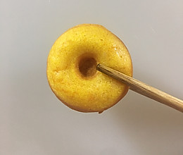 南瓜甜甜圈早餐机版的做法