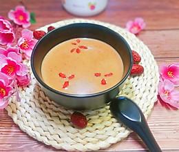 红米核桃枸杞红枣糊的做法