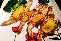 芝士焗明虾的做法