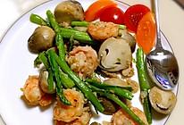 草菇芦笋虾仁—满口鲜香翠的做法