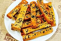 ㊙香酥黑芝麻吐司条,吐司逆天吃法来袭的做法
