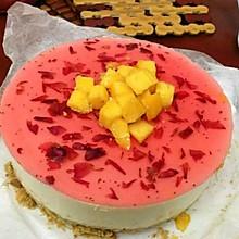 芒果冻芝士蛋糕(免烤)