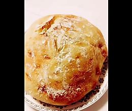 家庭版~不用揉面的健康面包的做法