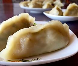烫面蒸饺(茄子馅儿~)—— 家的味道的做法