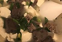鲜香鸡杂豆腐汤的做法