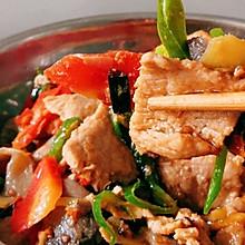 简单的蘑菇炒肉 好吃的另家人赞不绝口