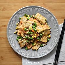 什锦豆腐 | 家常素食小菜
