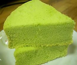新加坡绿蛋糕~斑斓蛋糕的做法