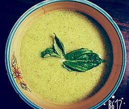 【营养暖身汤】西兰花浓汤的做法
