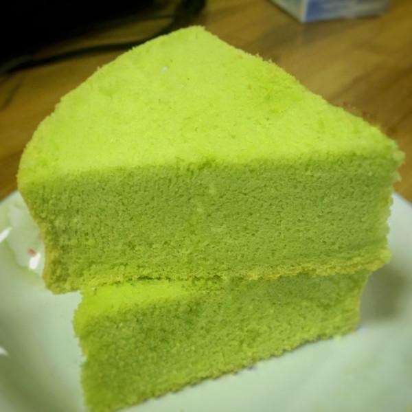新加坡绿蛋糕~斑斓蛋糕