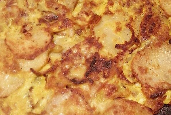 西班牙土豆蛋饼的做法