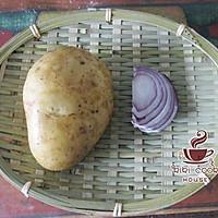 胡椒土豆煎饼#急速早餐#的做法图解1