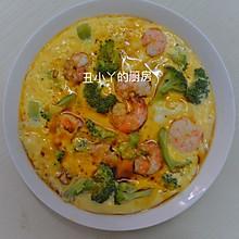 减脂餐|西兰花虾仁豆腐蒸鸡蛋