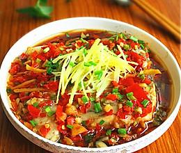 剁椒蒸鱼块的做法