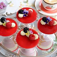 """#""""莓""""好春光日志# 莓果双色芝士杯子蛋糕的做法图解13"""