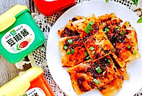 #一勺葱伴侣,成就招牌美味#秒杀早餐店的自制酱香饼的做法