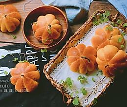 南瓜红豆面包的做法