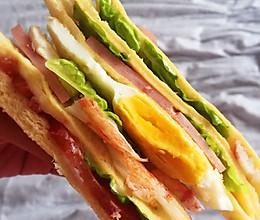 俱乐部三明治的做法
