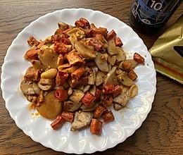 快手菜:凉拌杏鲍菇的做法